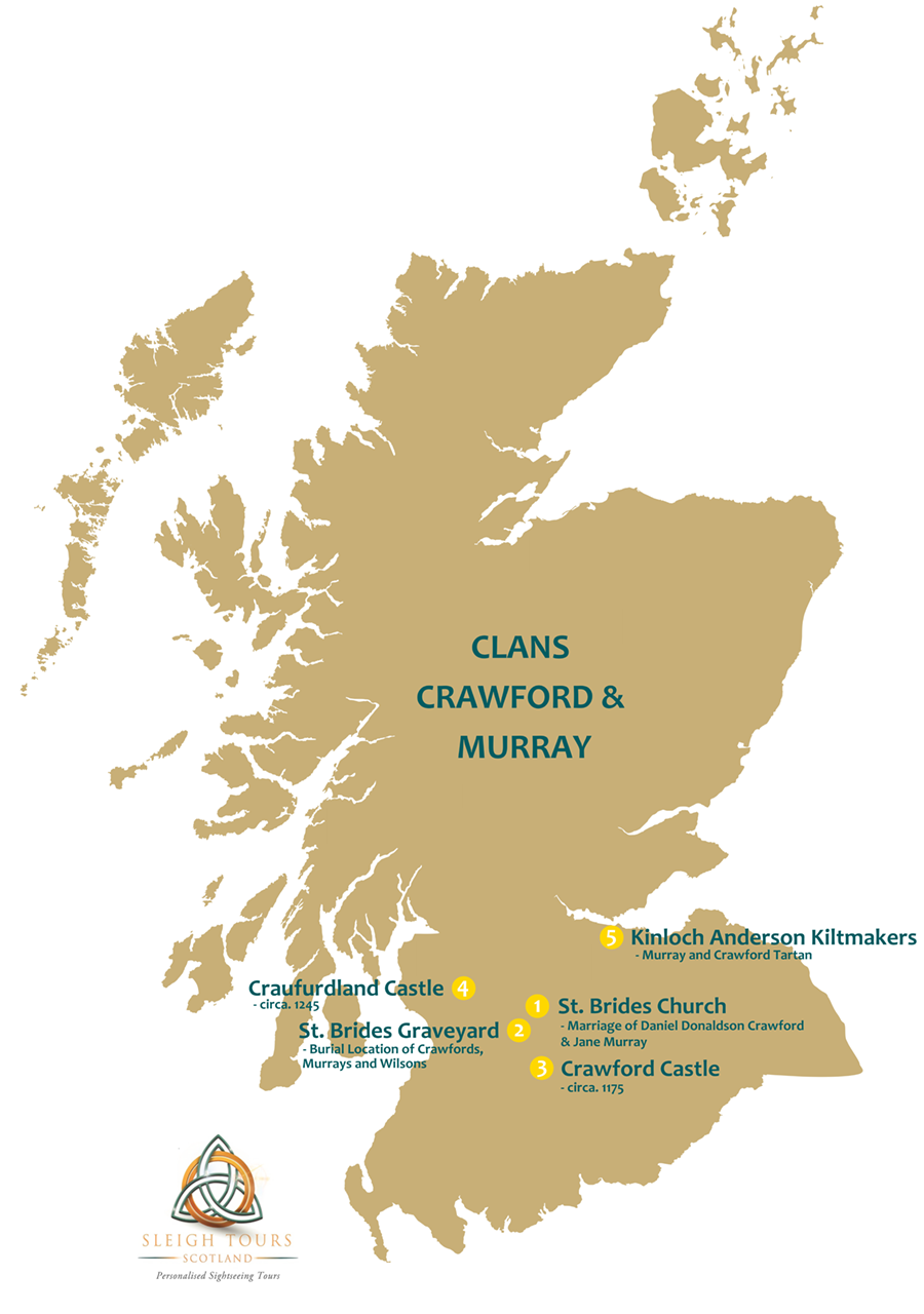 Clans Crawford & Murray Tour