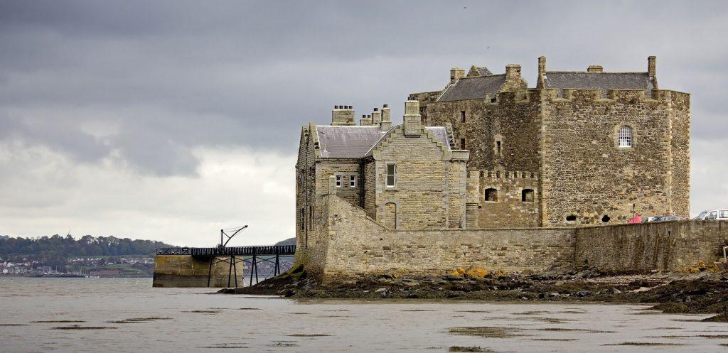 Blackness Castle on our Outlander Driven Tour
