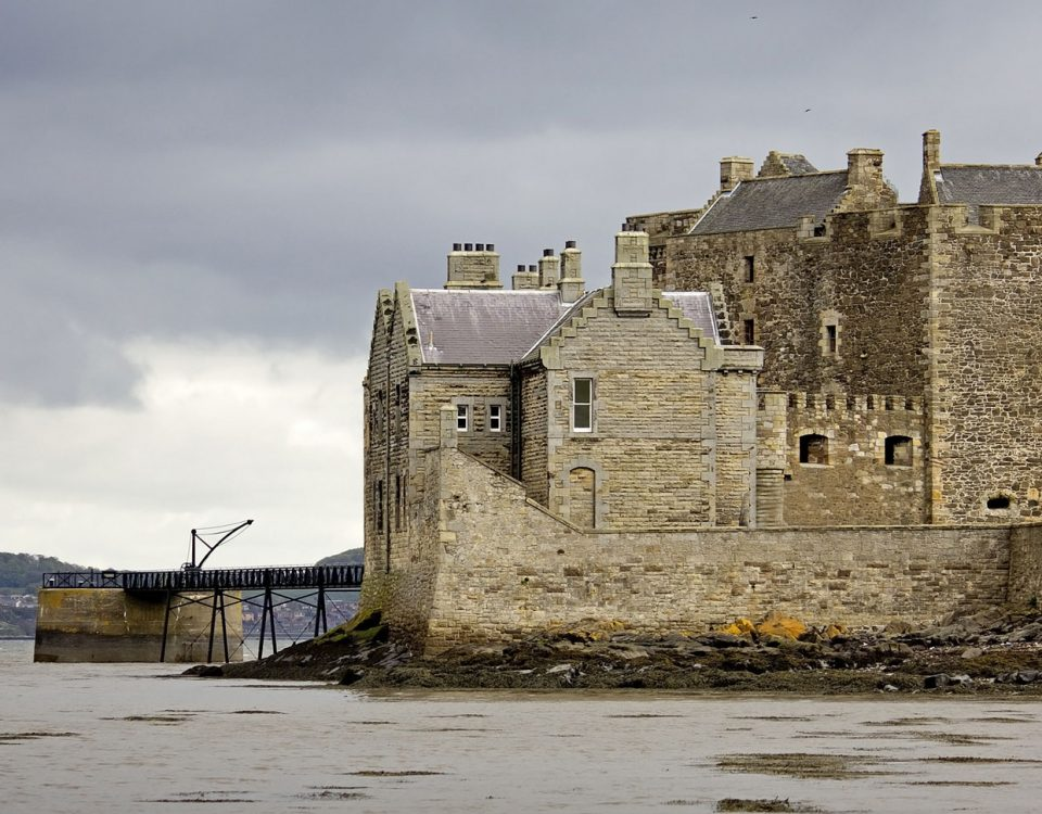 Blackness Castle on our Outlander Driven Tour