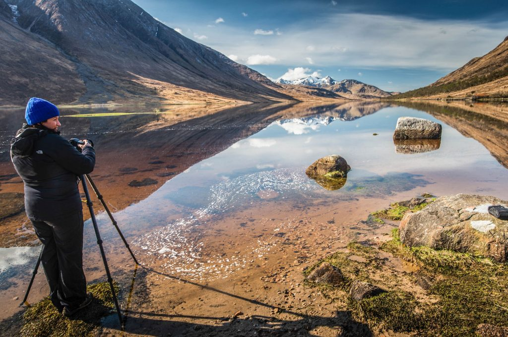 Photograph Scottish Mountain Landscapes